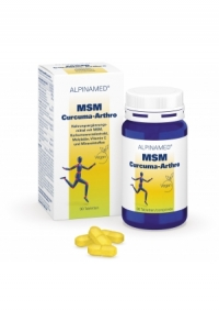 Alpinamed MSM Curcuma-Arthro 90 Tabletten